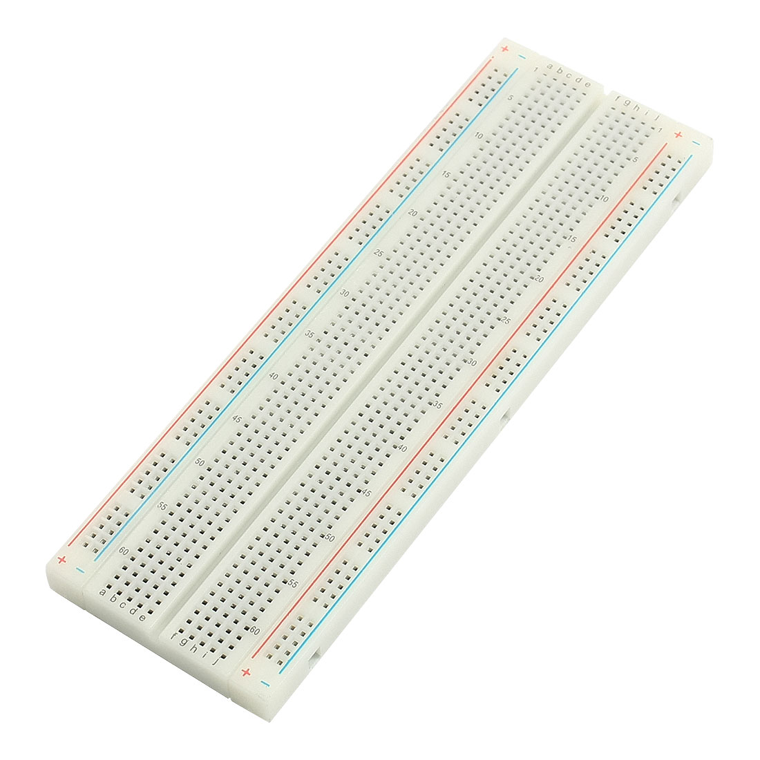 Electronic Circuit Board PCB Testing White Plastic Self-adhesive Solderless Breadboard 700 Hole 16.5cmx5.5cm