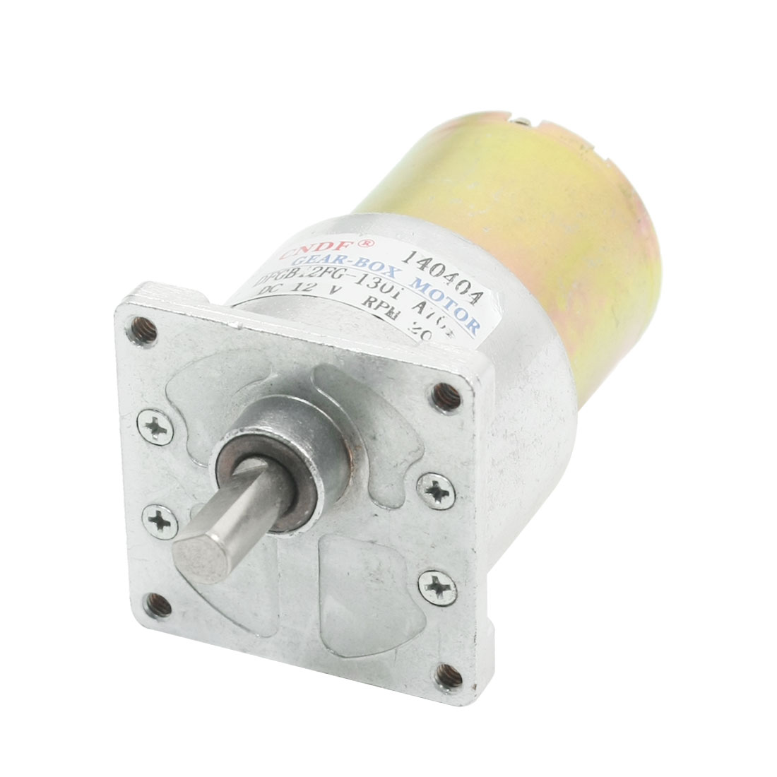 Cylinder 3mm Thread Hole Dia Magnetic Gear Box Motor DC12V 20RPM