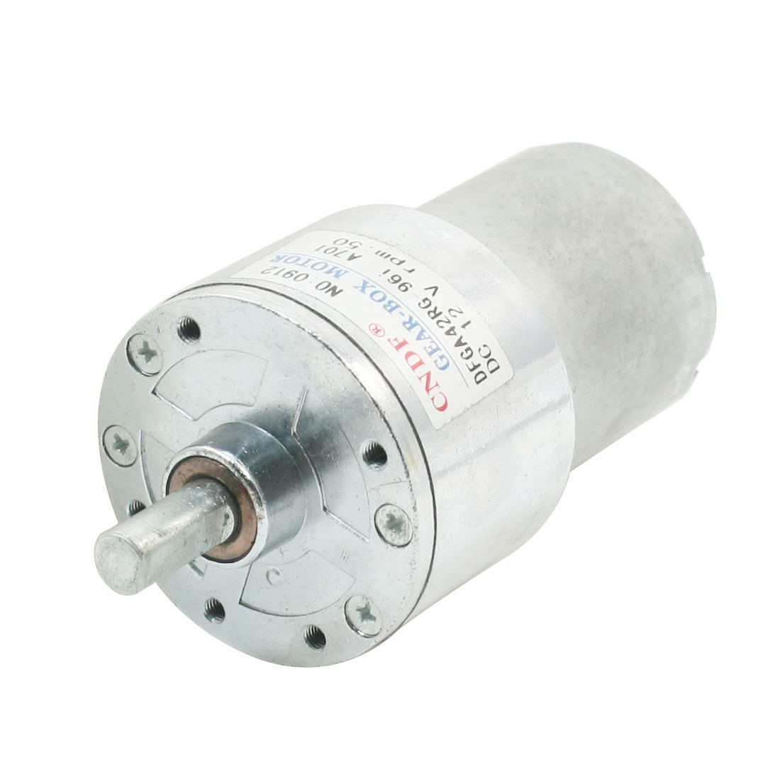 DFGA42RG DC12V 50RPM 15x7mm Shaft Gearbox Magnetic Electric Motor