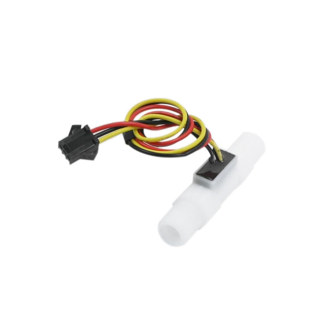 SEN-HZ41W 3.5L/min G1/4 Male Thread Hall Effect Water Flow Sensor Switch Flowmeter