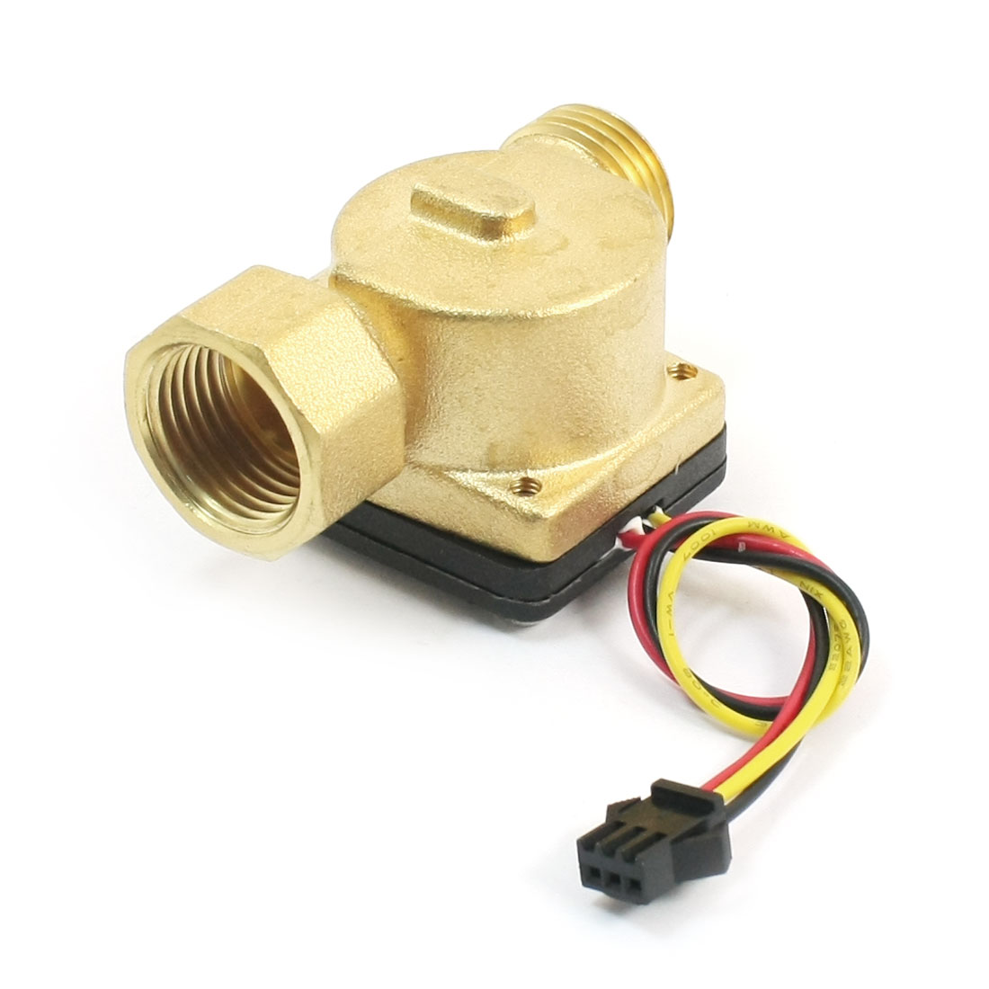 SEN-HZ21FA G1/2 Threaded Port 1-30L/min Water Flow Hall Effect Sensor Switch Flowmeter