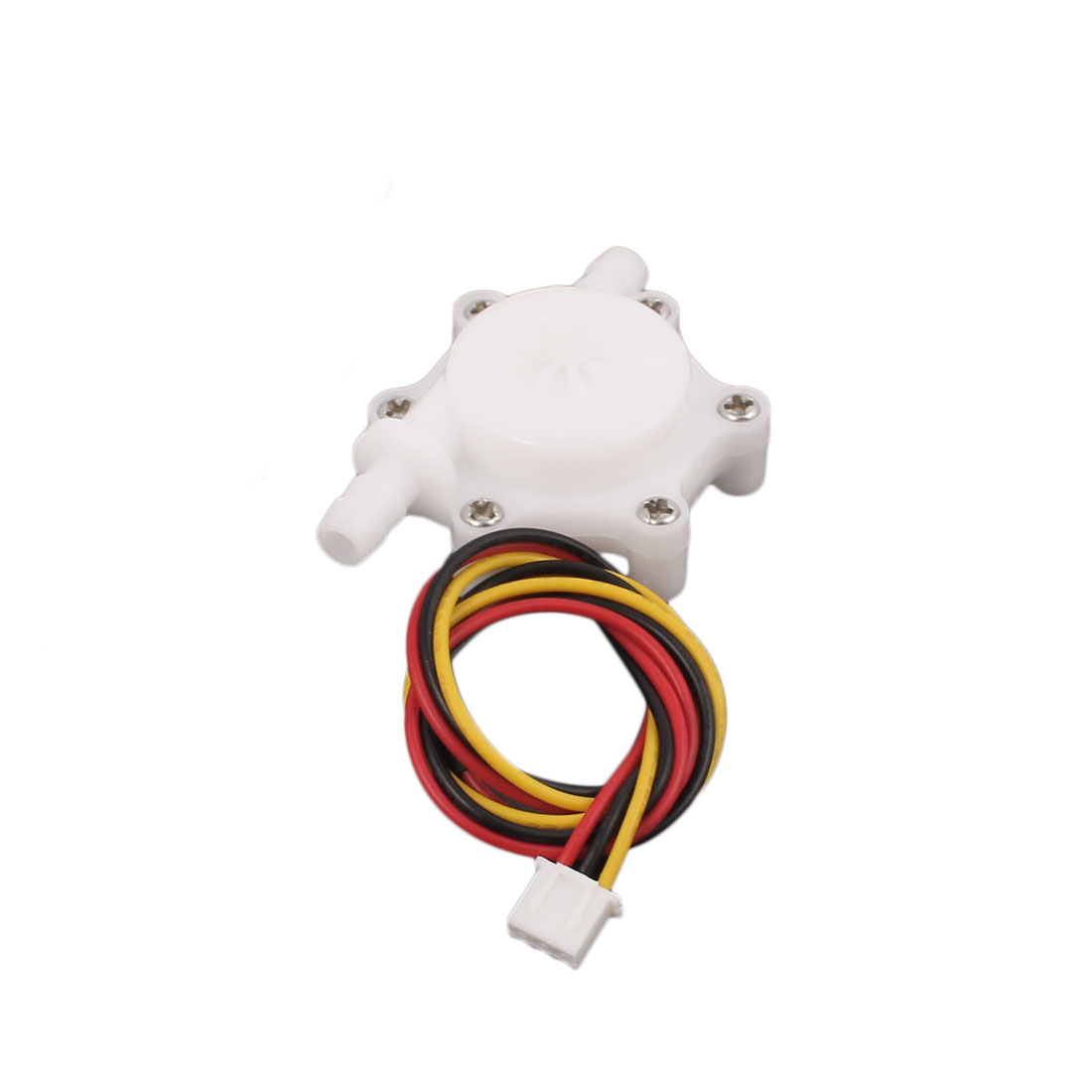 Quick Insert 6mm Outlet Inlet Hall Effect Water Flow Sensor 0.4-4L/Min