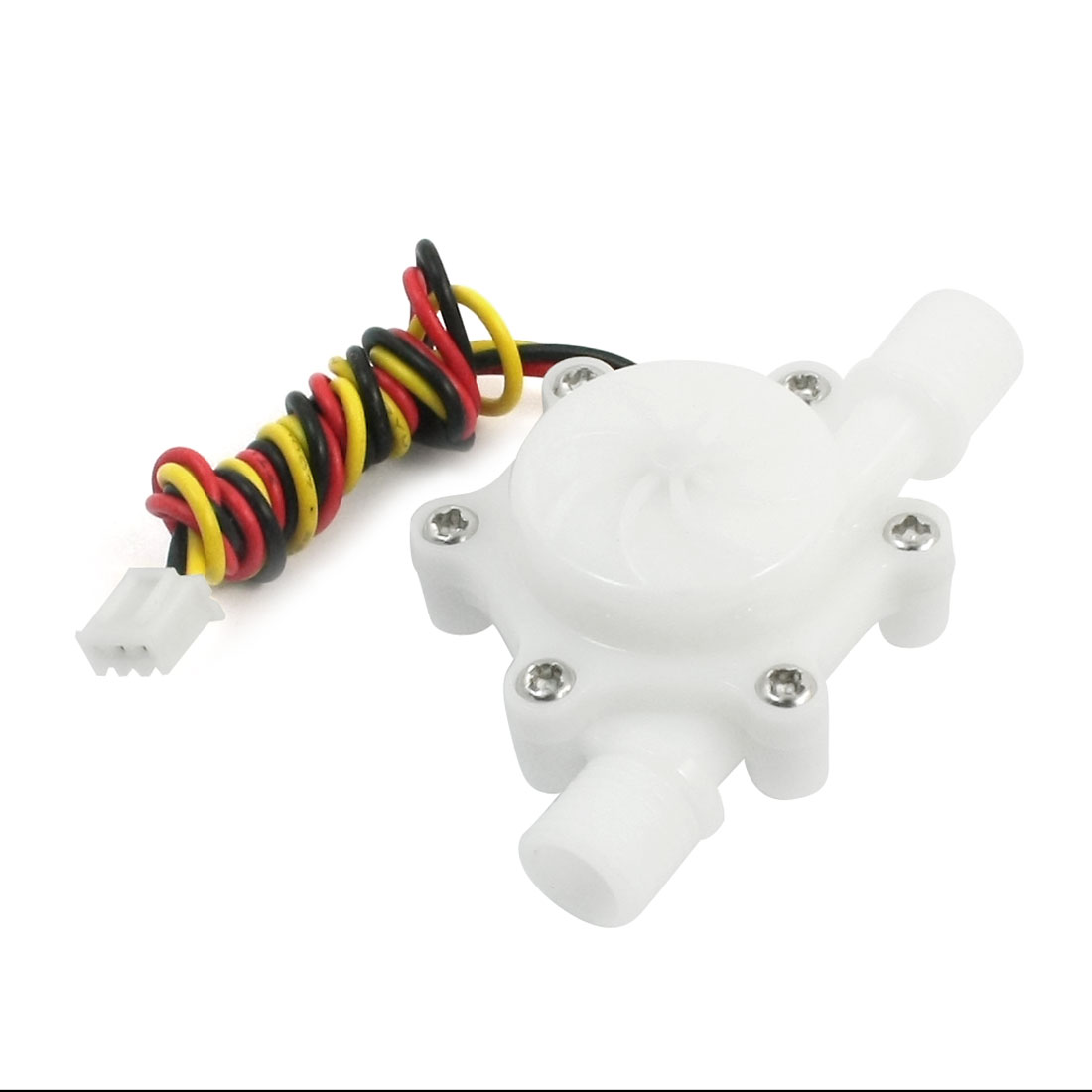 0.15-1.5L/min G1/4 Male Thread Double Ended Hall Effect Water Flow Sensor