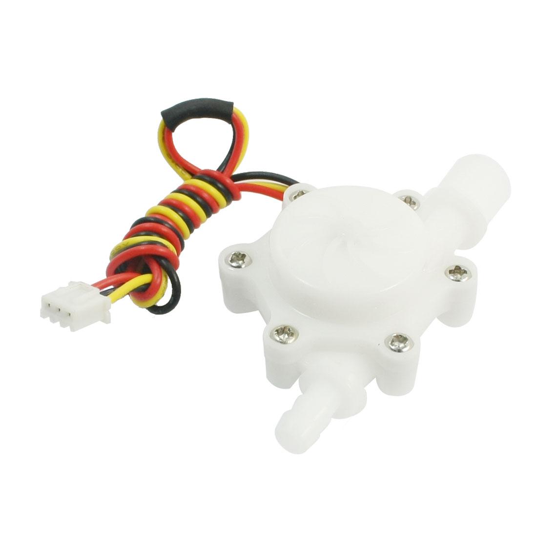 DC3V-18V 0.2-2.5 L/min G1/4 Male Thread Hall Effect Water Flow Sensor