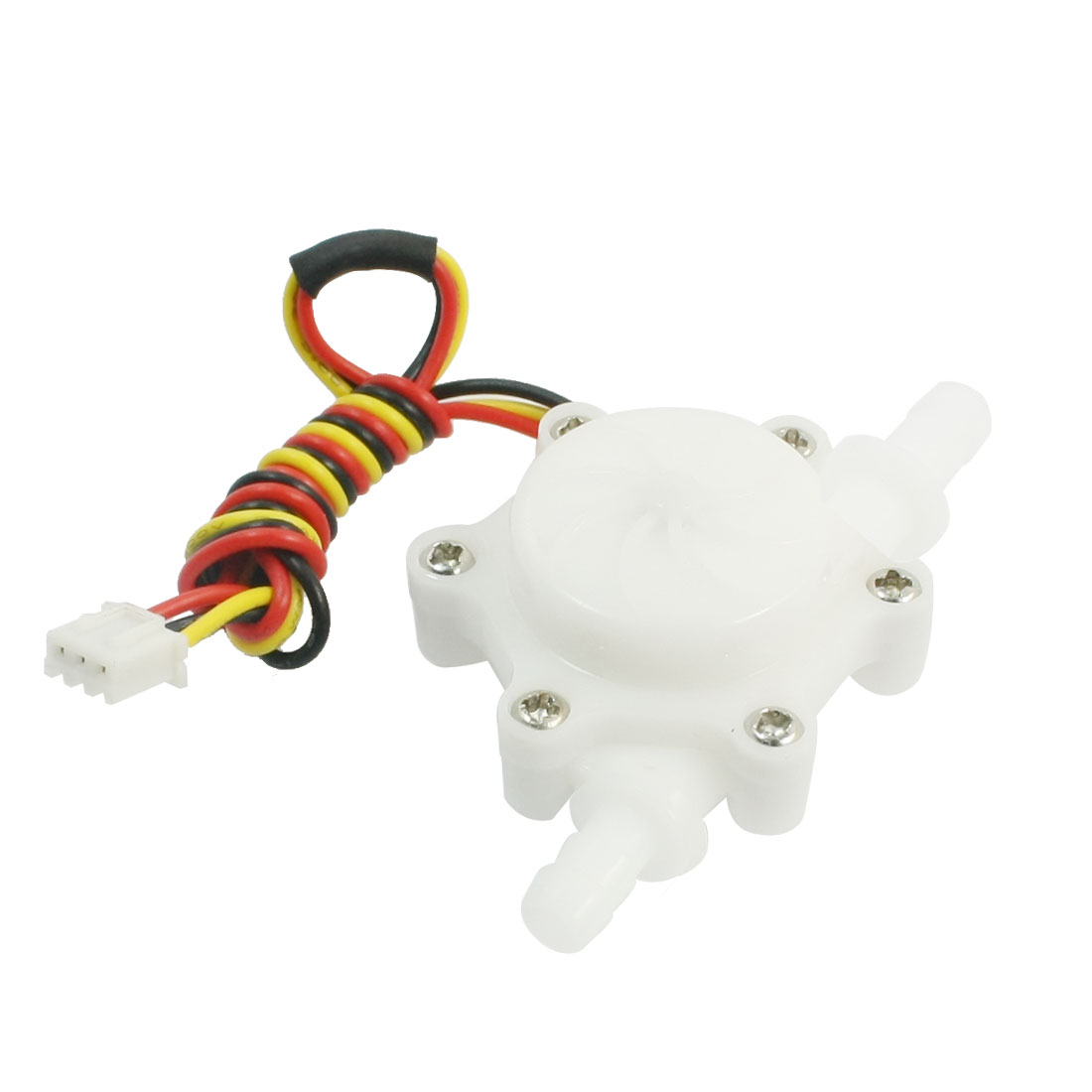 Straight 6mm Outlet Inlet Outer Dia Hall Water Flow Sensor 1-30L/min