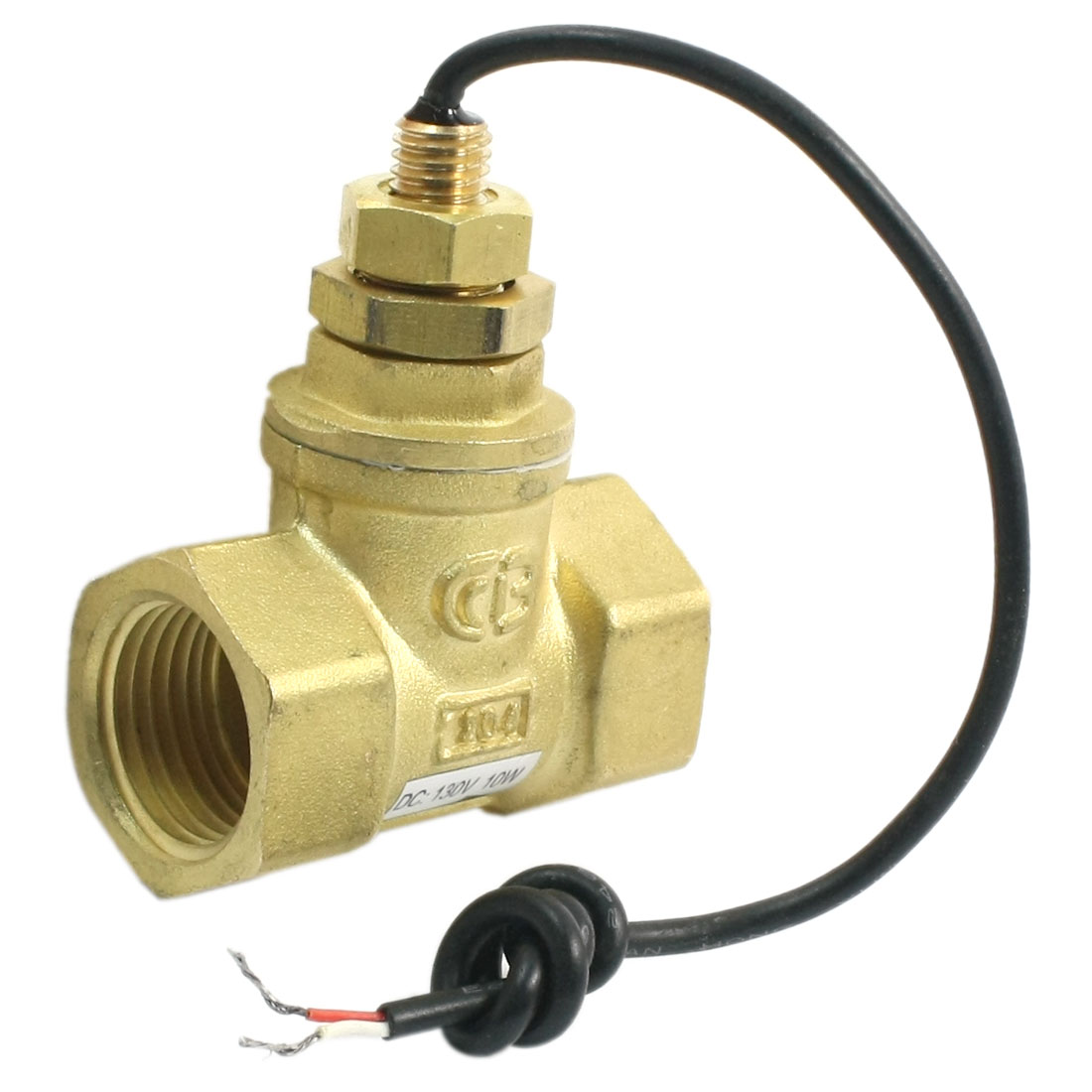 SEN-HS15 10W 3-8L/Min 1/2PT In-line Adjustable Piston Water Flow Sensor Switch Flowmeter