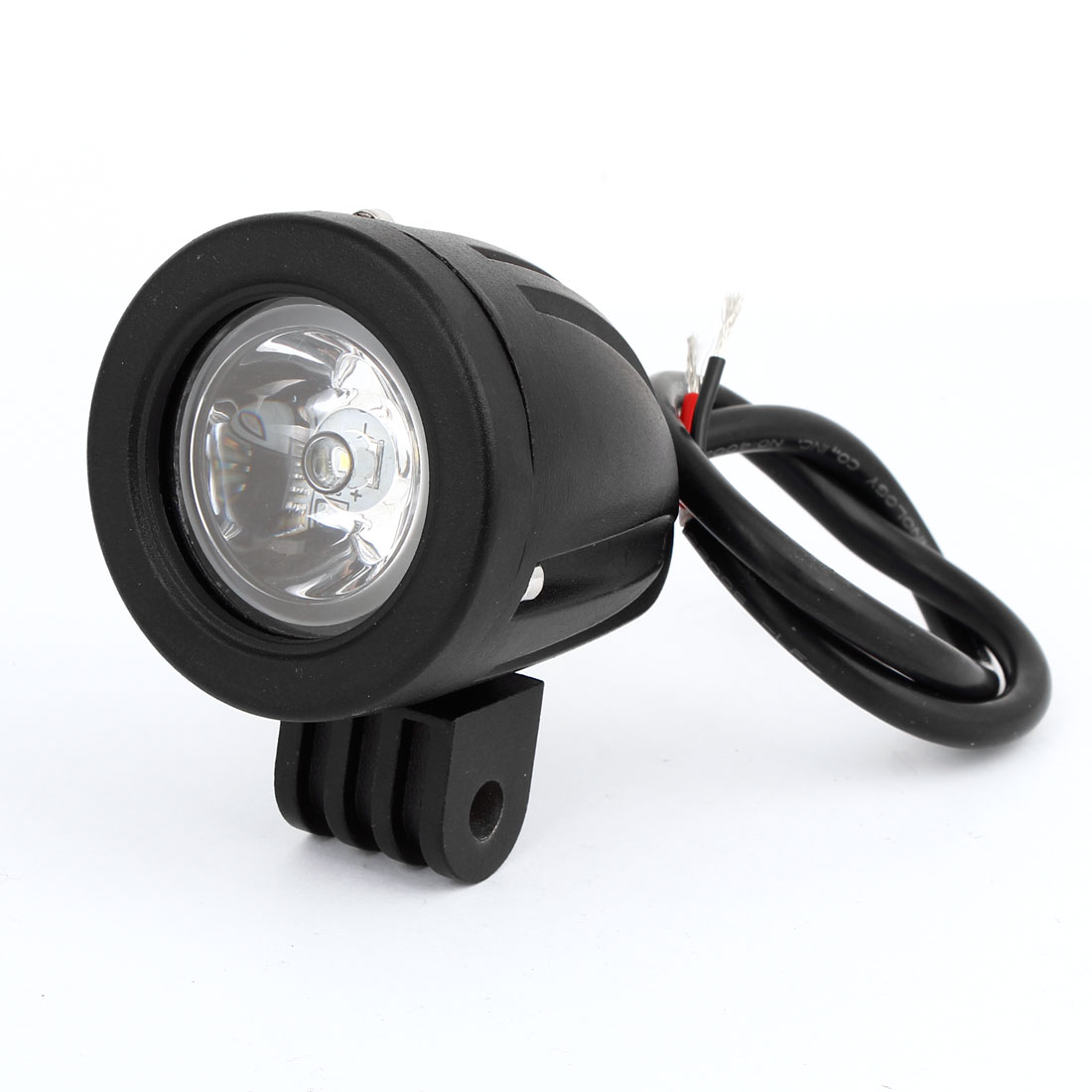 Black Round Shaped White LED Work Offroad Light Spot Beam Lamp 10W DC 12V for Car Auto