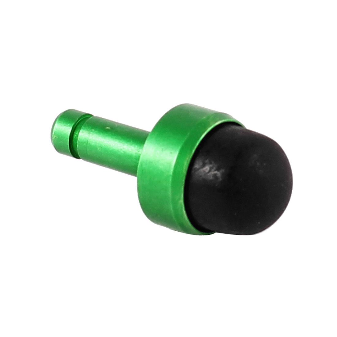 Mini Stylus Touch Screen Pen Anti Dust Headset Earphone Stopper Jack Ear Cap Green Black for Cell Phone