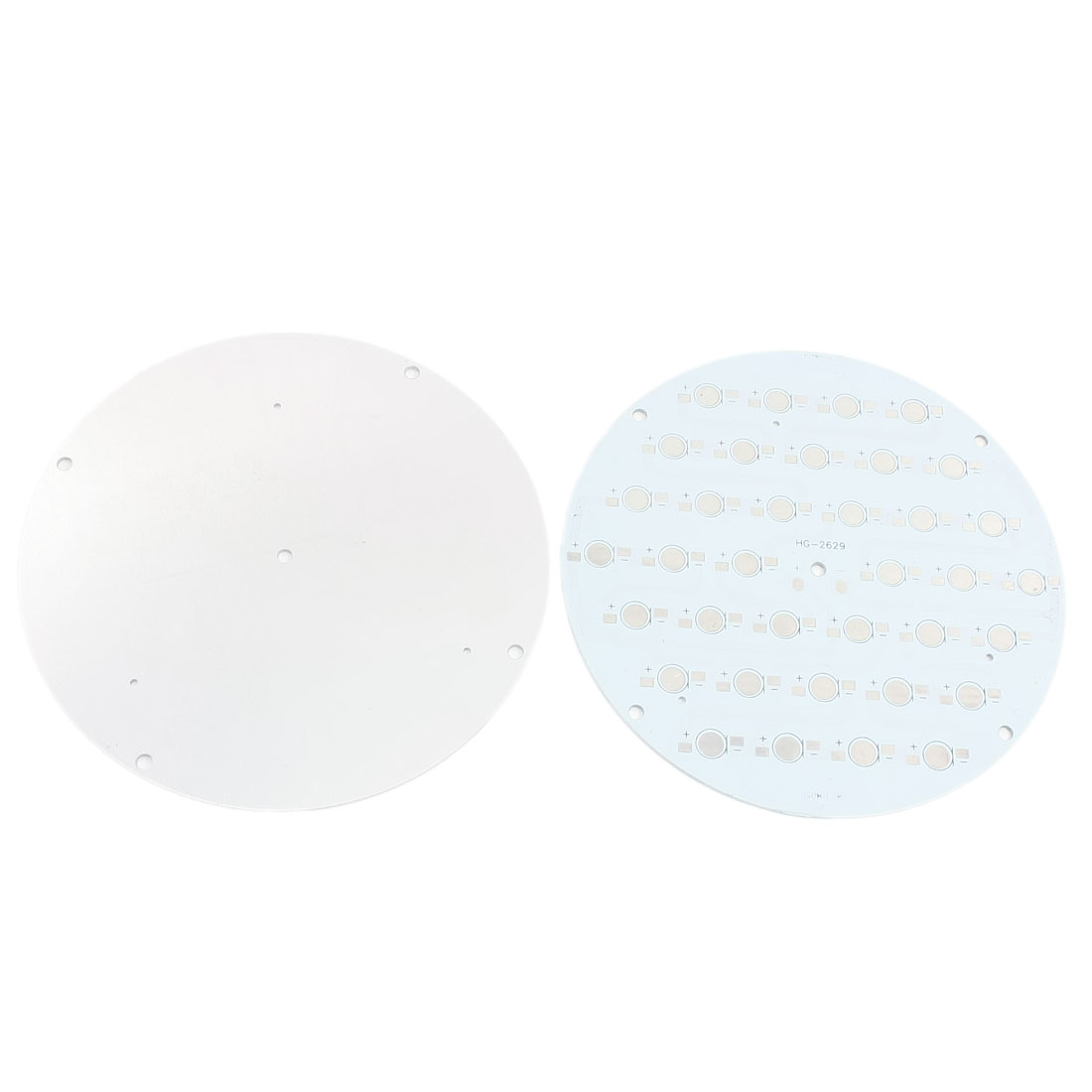 2Pcs 36 x 1W 3W LED High Power Circle Aluminum PCB Circuit Board 140mm Diameter
