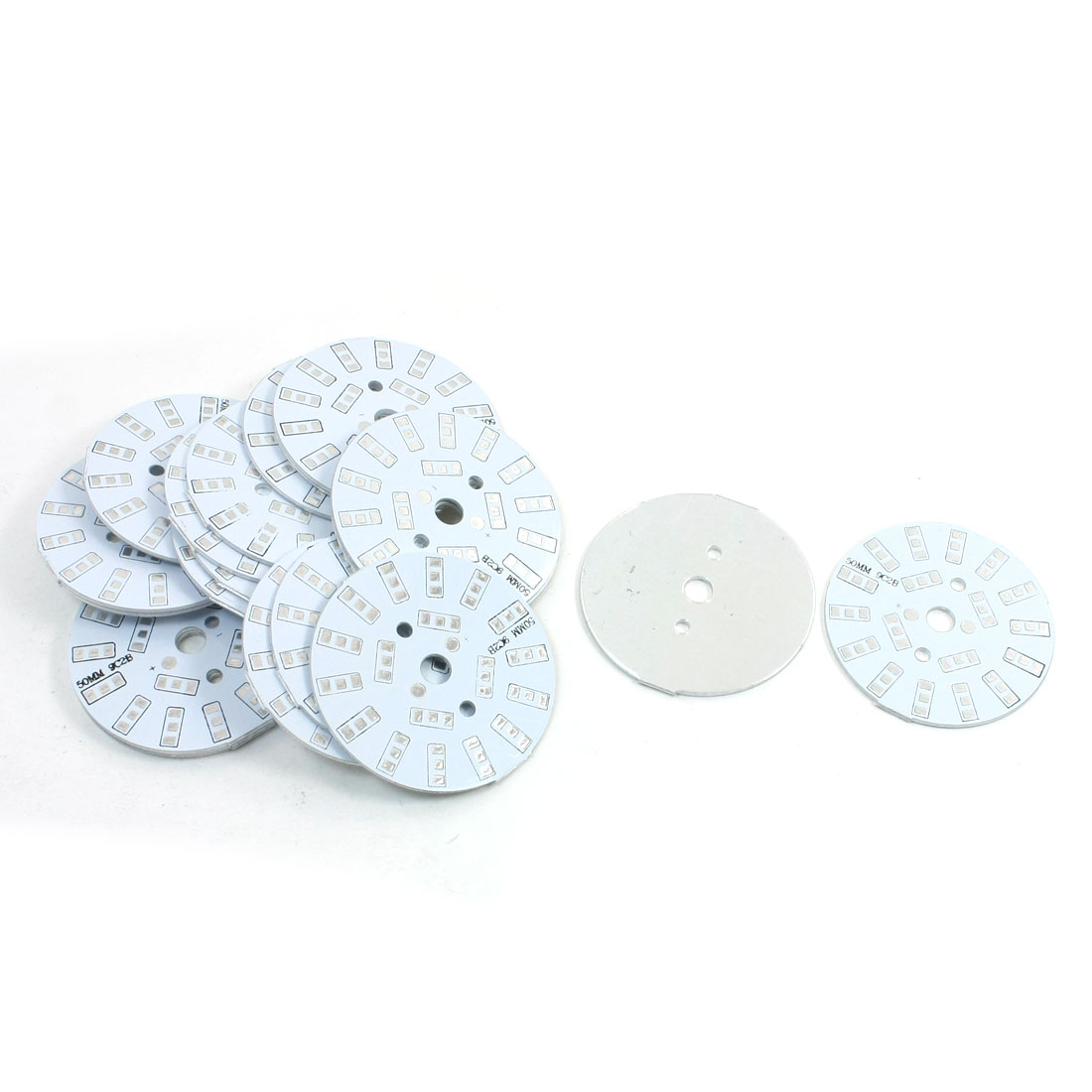 20Pcs 18 x 1/2W 5730 SMD LED High Power DIY Circle Aluminum PCB Circuit Board 50mm Diameter