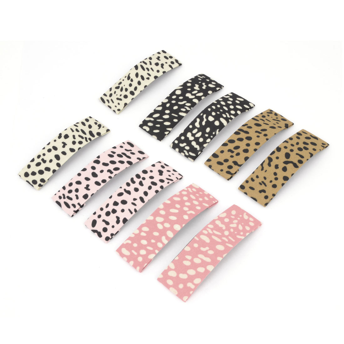 Lady Gift Bow Prong Snap Clips Hair-clips Hairpins Barrettes Colourful 10 Pcs