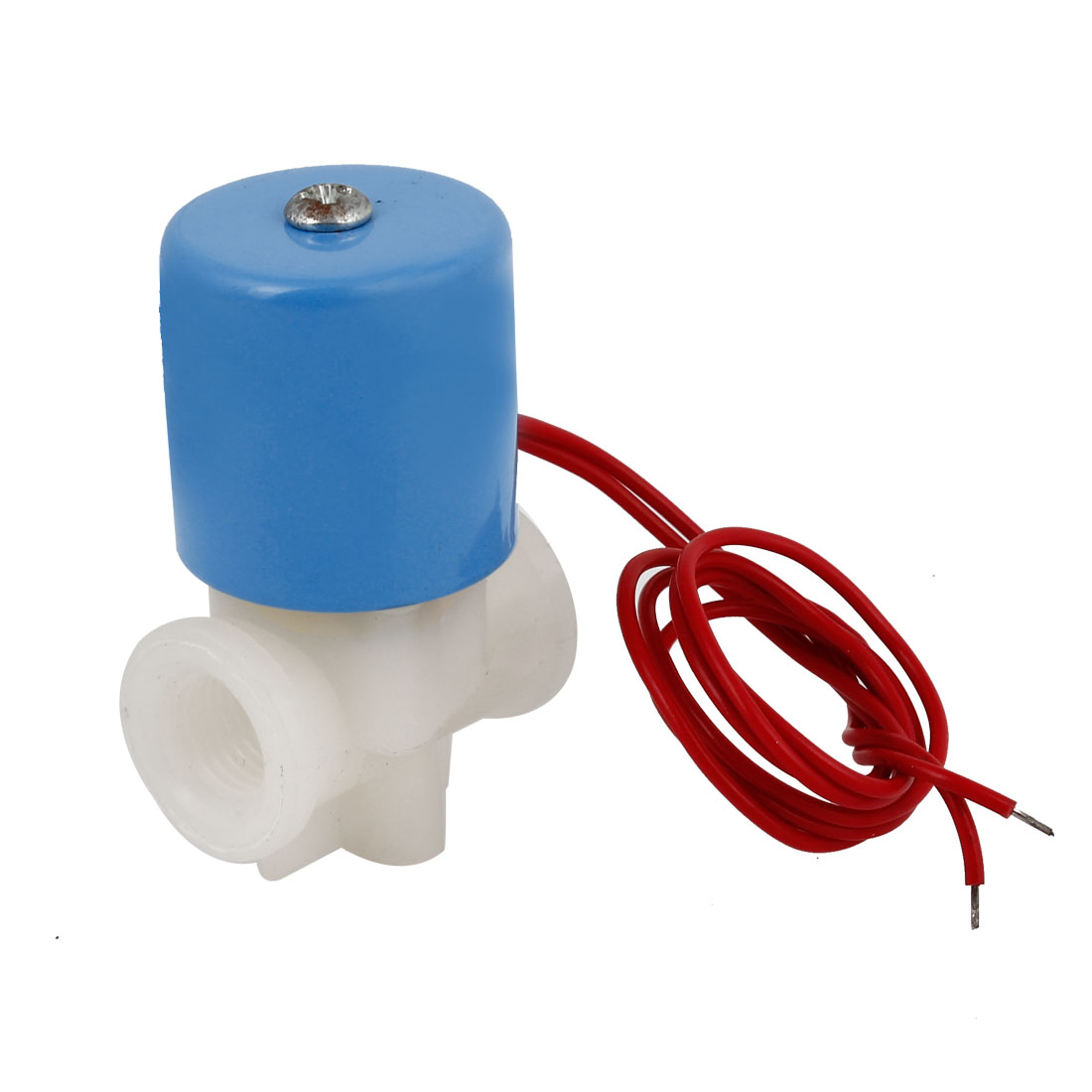 DC 24V 1/4PT Female Thread Pneumatic Pulse Solenoid Electromagnetic Valve