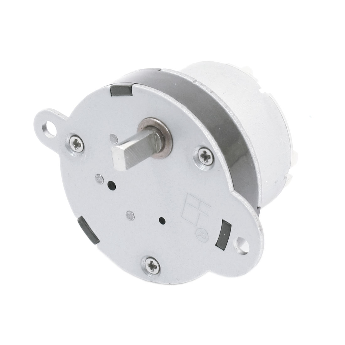 DC 6V 5mm Drive Shaft Connecting 80 r/min Output Rotary Speed Reducing Cylinder Shaped Electric Gearbox Motor