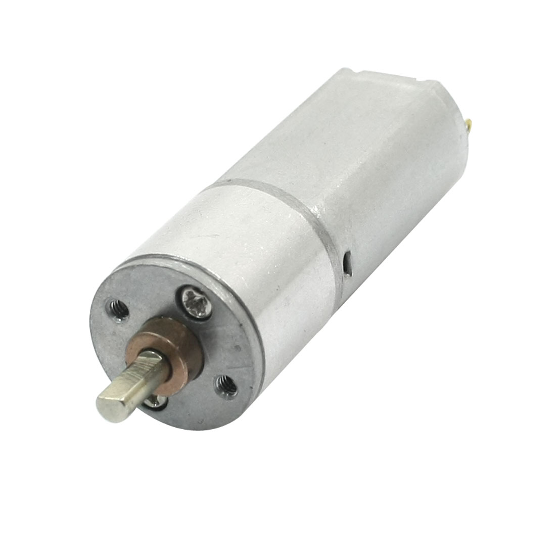 3mm Dia Drive Shaft 50rpm Output High Torque Rotary Speed Reduce Cylinder Shape Electric Geared Box Motor DC6V