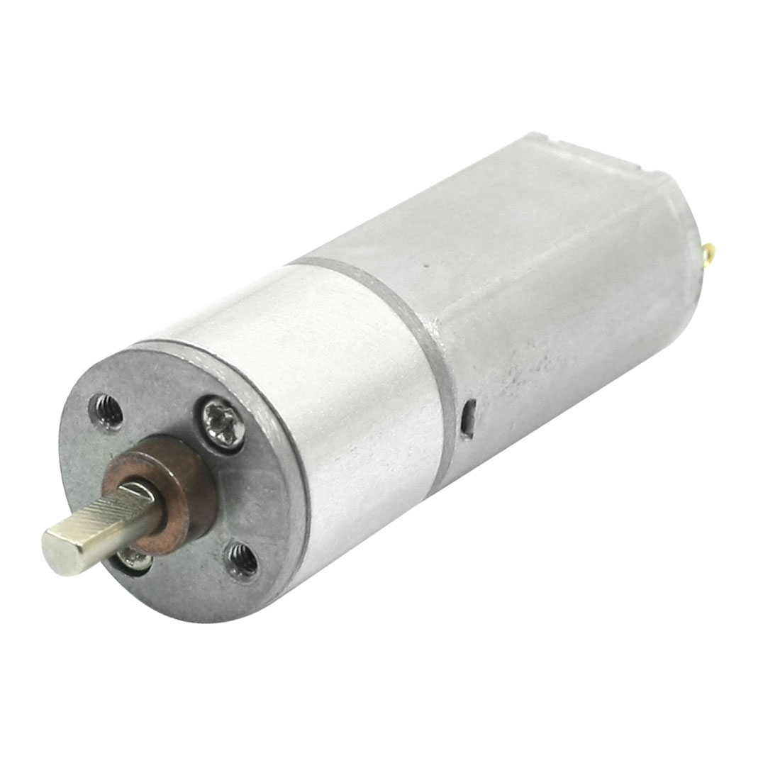 3mm Dia Drive Shaft 32rpm Output High Torque Rotary Speed Reducing Connecting Cylinder Shape Electric Geared Box Motor DC 6V