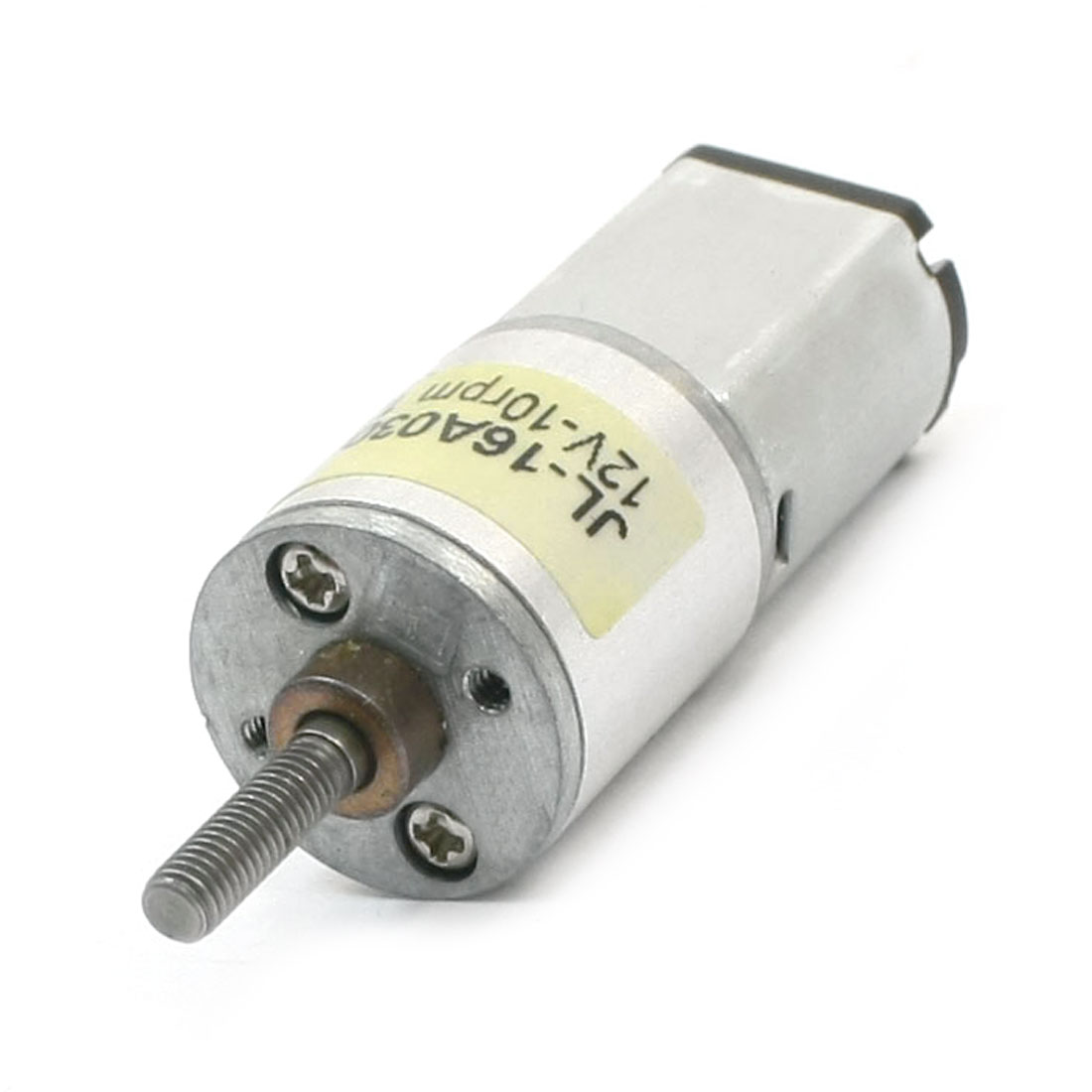 3mm Dia Drive Shaft 10rpm Output High Torque Rotary Speed Reducing Connecting Cylinder Shape Electric Geared Box Motor DC 12V
