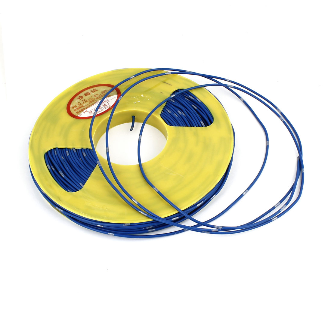 100M BVR 0.75mm2 Flexible Blue PVC Insulated Multi Strand Copper Electric Wire Cable Roll