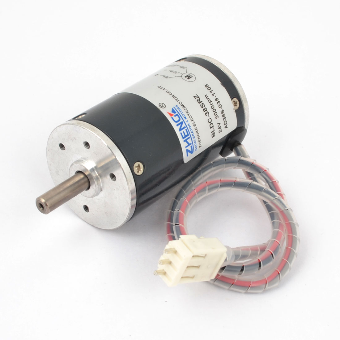 DC 24V 3000RPM Speed 38mm Diameter Low Noise Brushless Motor