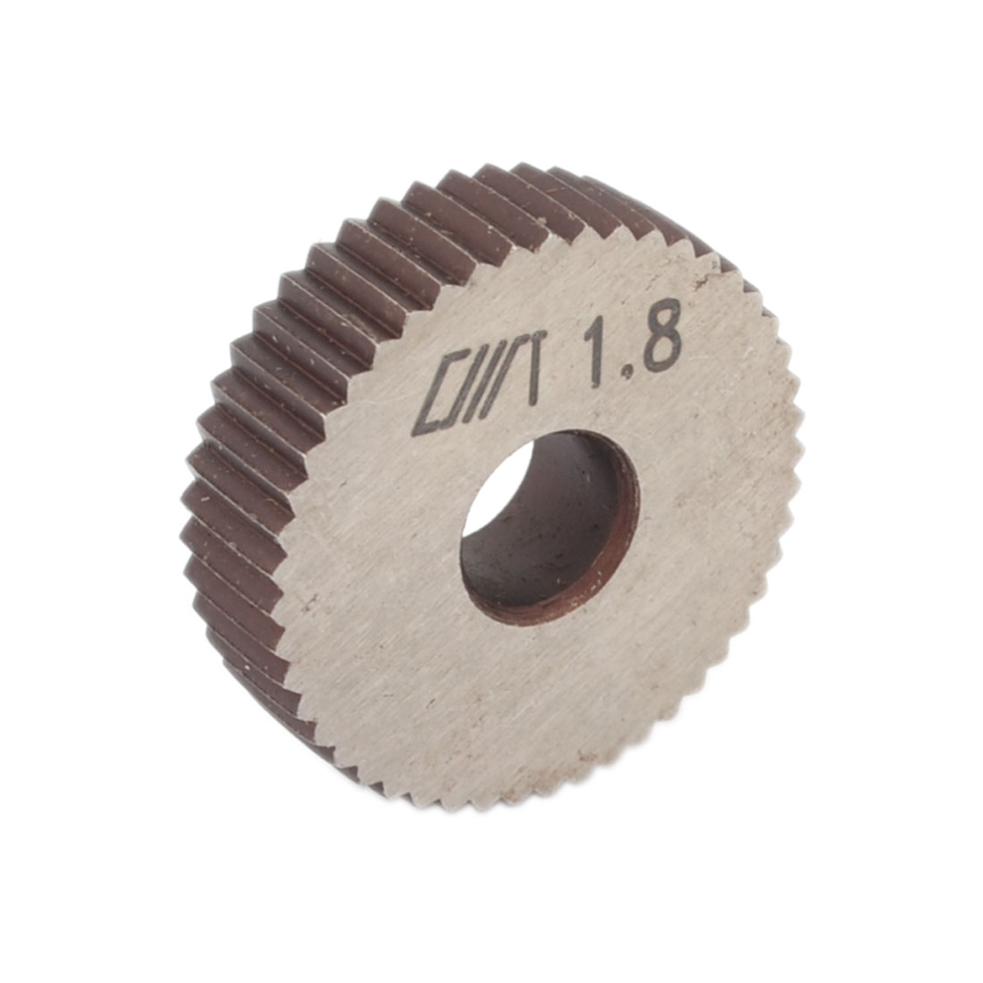Single Straight Coarse 1.8mm Pitch Linear Knurl Wheel Knurling Tool