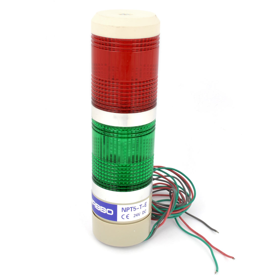 DC 24V Industrial Workshop Red Green LED Lamp Tower Signal Light Bulb