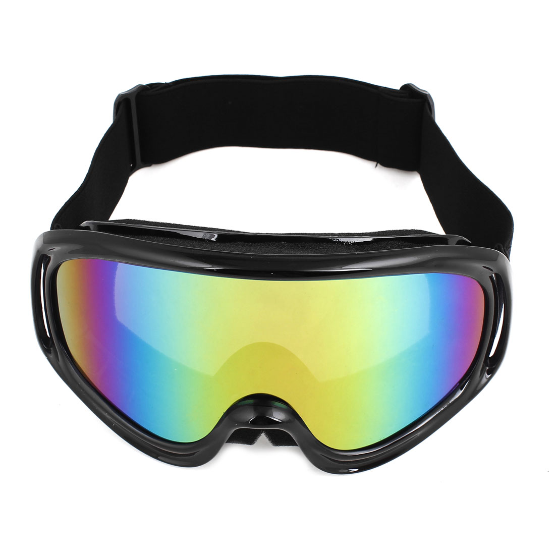 Elastic Strap Colorful Lens Ski Motorcycle Goggles Wind Glasses