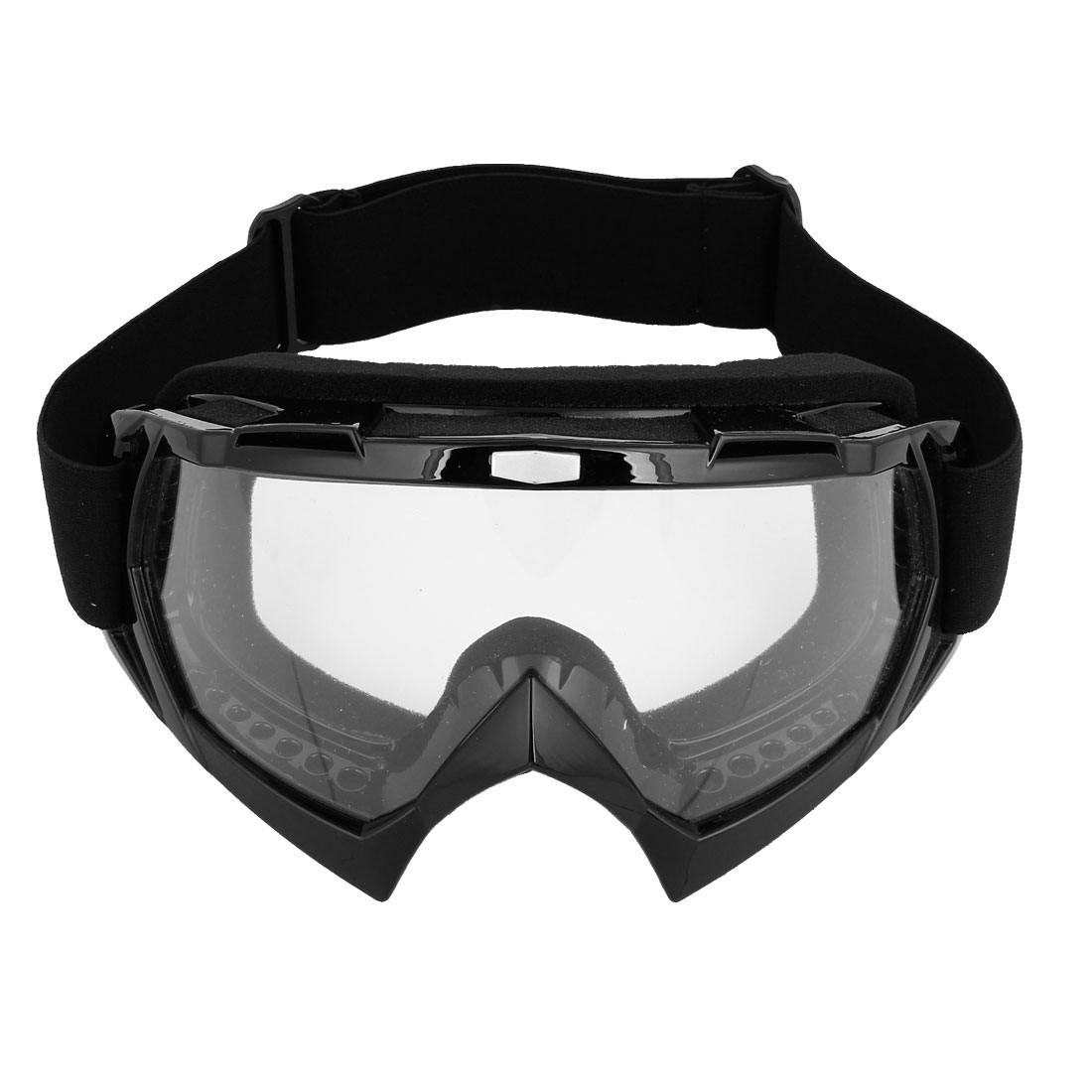 Stretchy Band Clear Lens Ski Motorcycle Goggles Wind Glasses