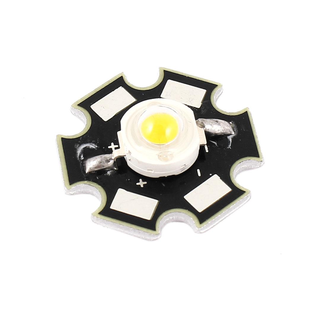 3W 3000-3500K Warm White LED Light Star Base Lamp Bead Emitter 3.0-3.9V