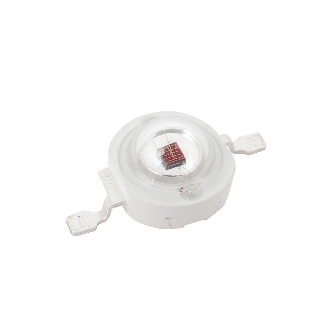 3W High Power 40-60LM 2 Terminal Blue Light LED Lamp Diodes Red Bead