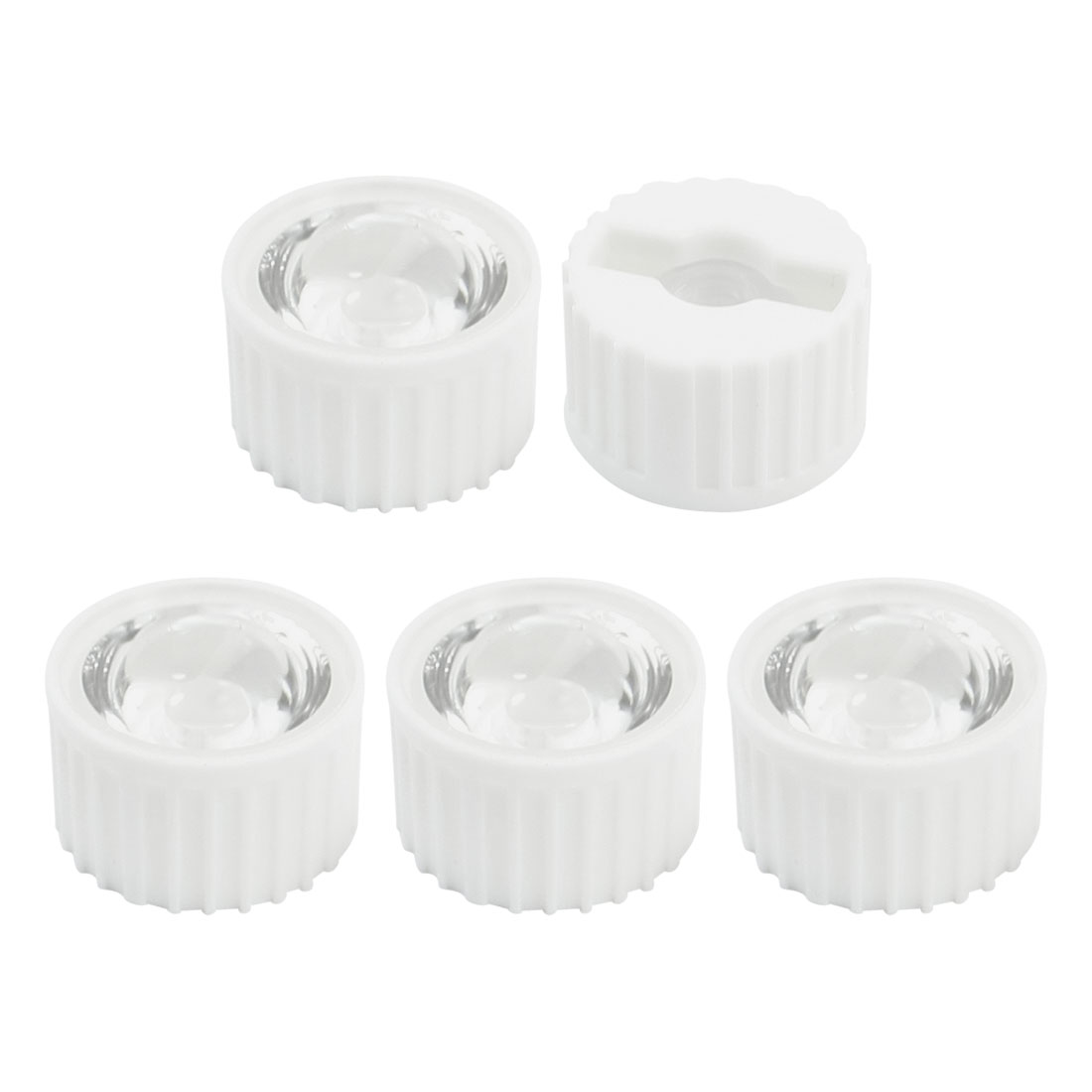 5Pcs 21x13mm High Power 1W 3W 5W Star LED Optical Lens 120 Degree