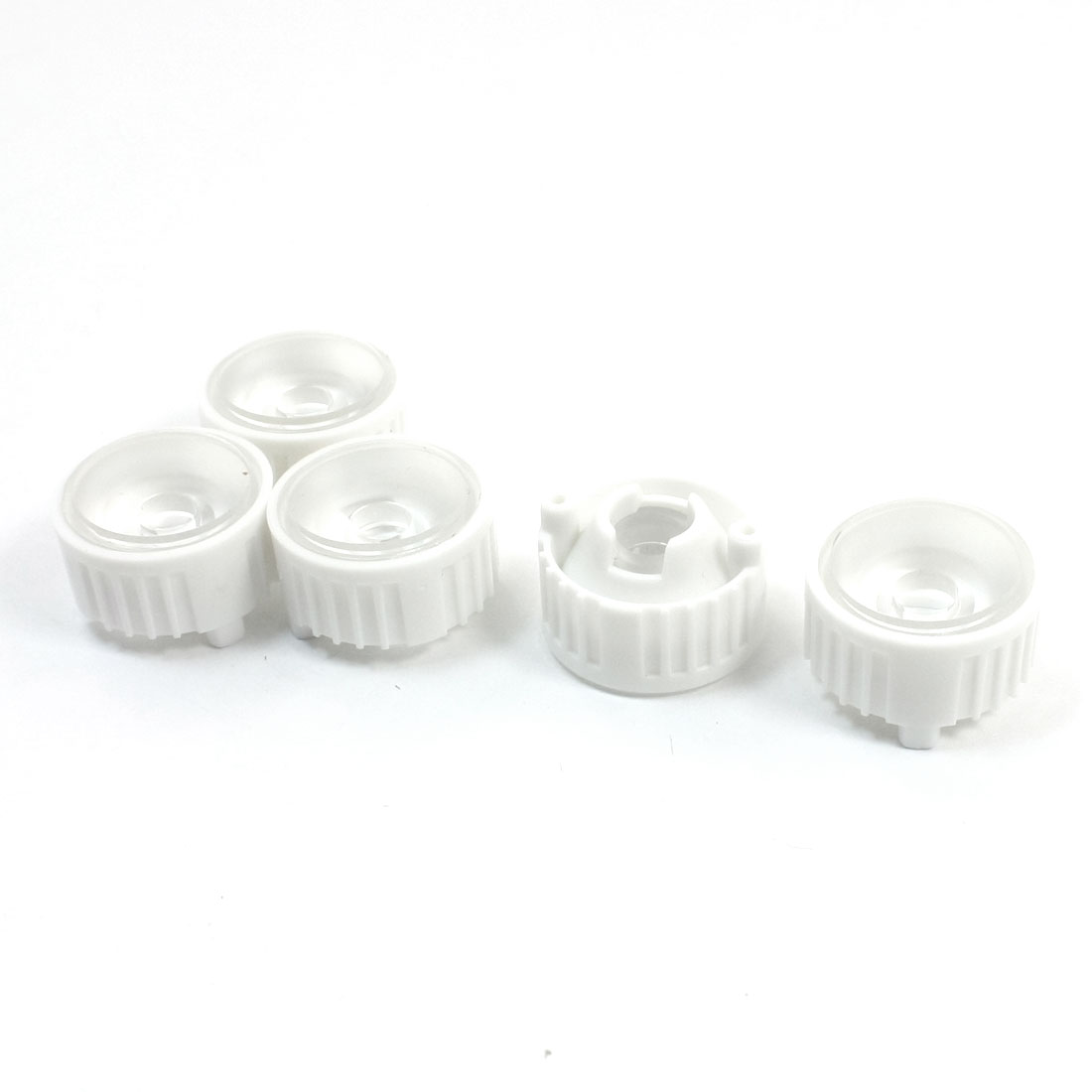 5Pcs High Power LED Optical Lens LEDs Collector Len 90 Degree 22x14mm
