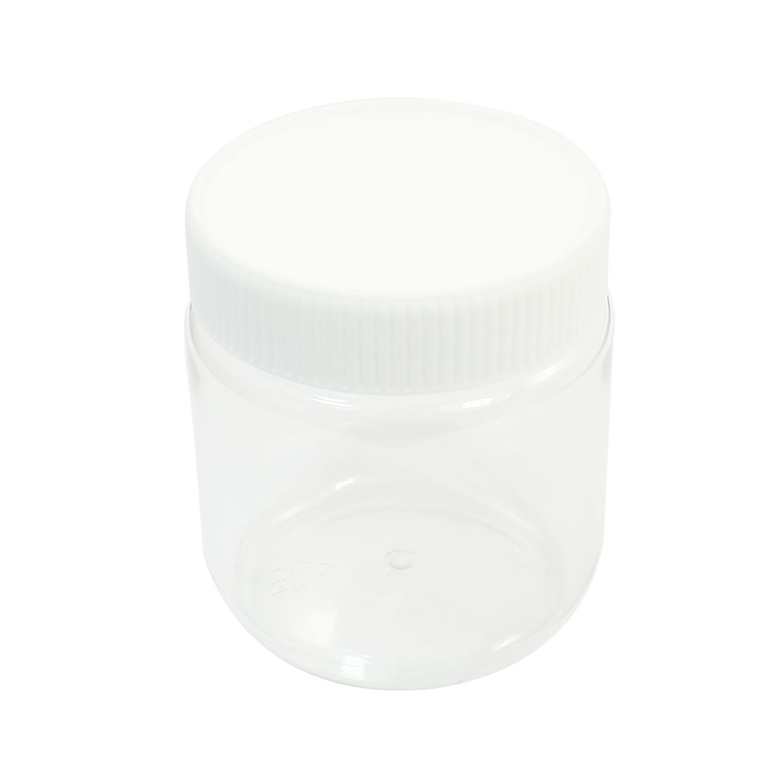 300mL Capacity White Clear Chemical Reagent Storage Jar Bottle for Laboratory