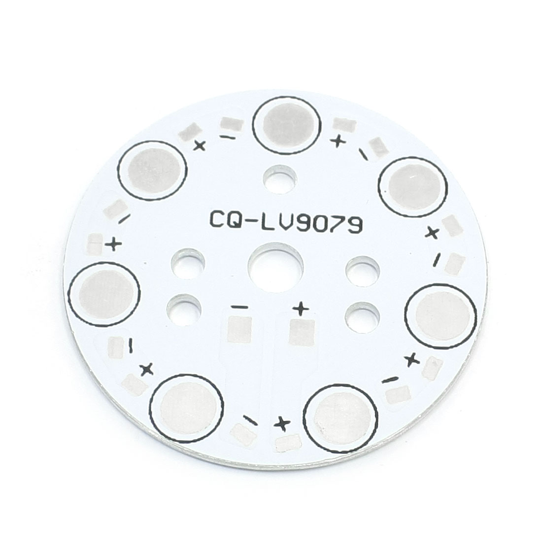 49mm Circle Aluminum PCB Circuit Board for 7pcs x 1W 3W 5W LED in Series