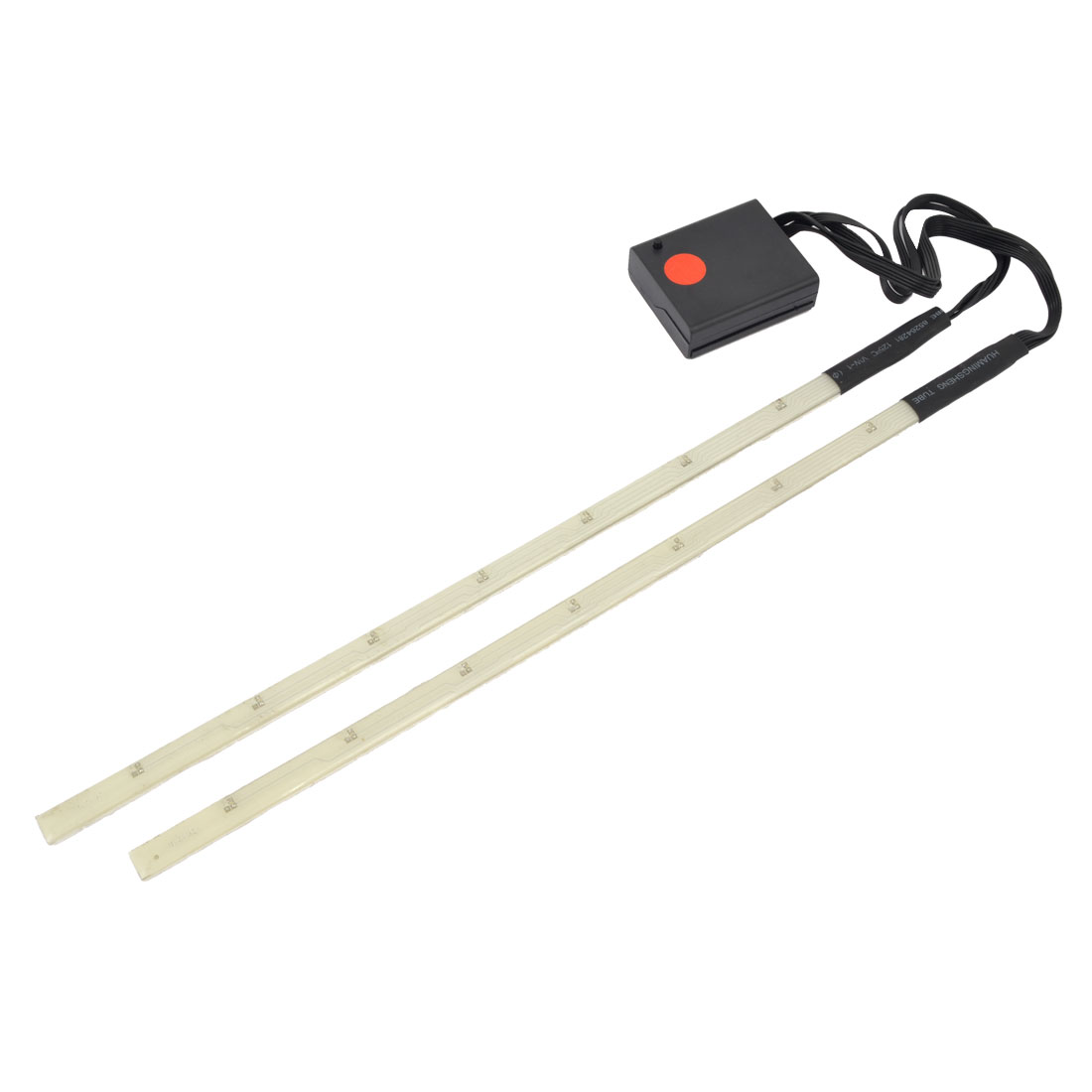 2 in 1 14 LED Bicycle Tripod Edge Red LED Strips Lights Decor 50cm