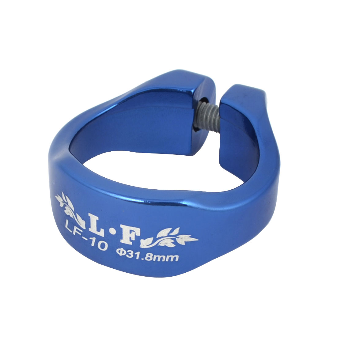 LF Authorized Cycling Moutain Bike Bracket Seat Post 31.8mm Adjustable Sit Tube Clamp Clip Holder Blue