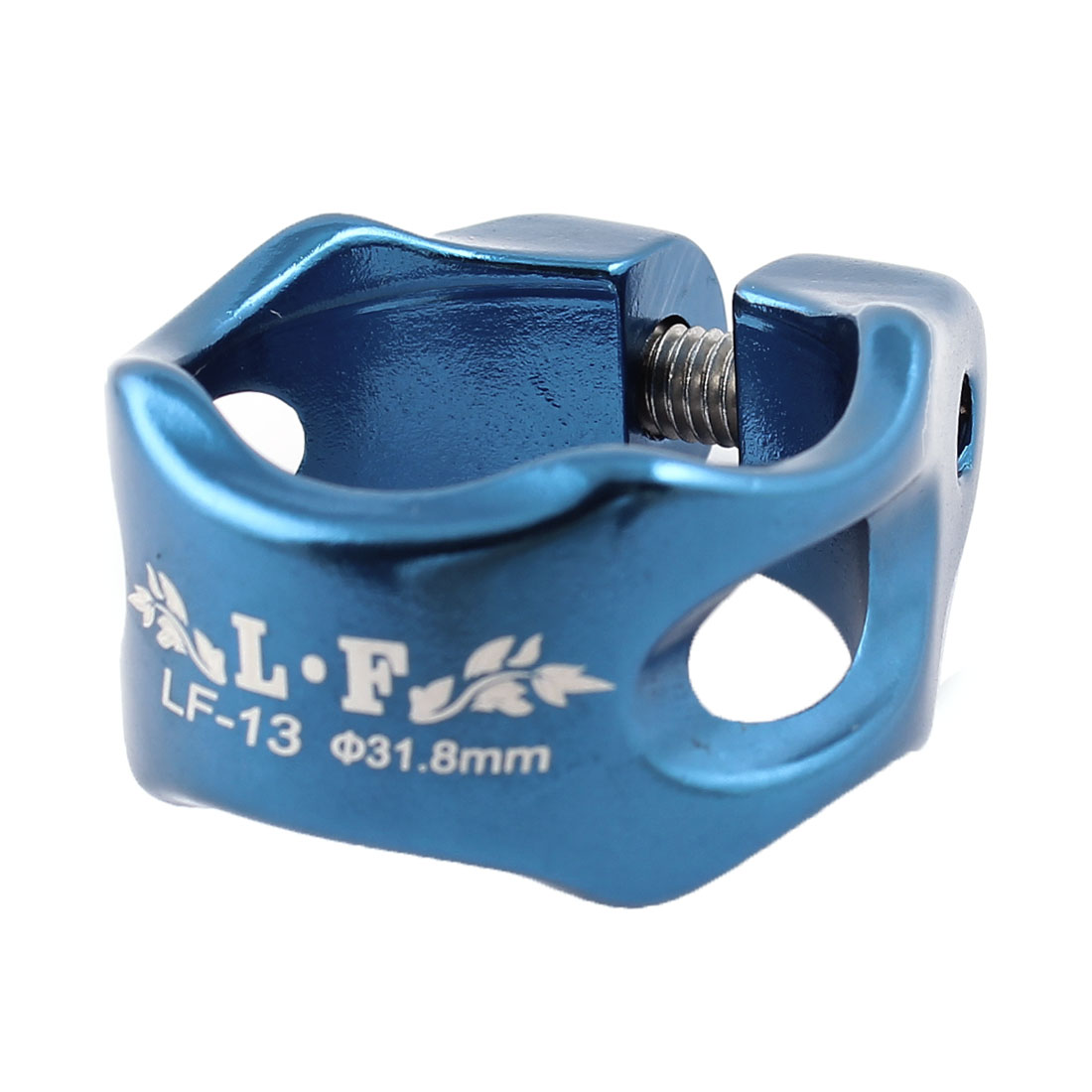 Authorized by LF Road Bike MTB Anodized Aluminium Alloy Seat Post Seatpost Clamp 31.8mm Blue