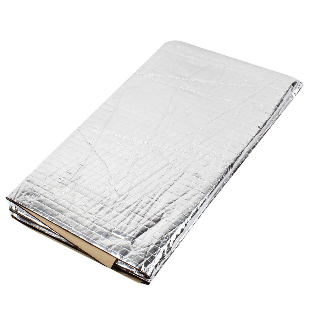 Self Adhesive 120cmx100cm Aluminum Foil Foam Engine Heat Insulation Mat for Car