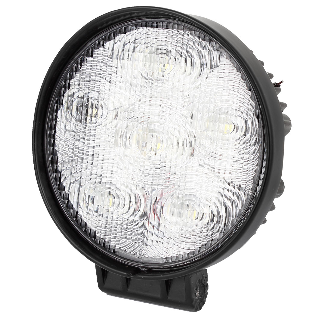 Round Shape 18W 6 LED Work Light Spot Beam Fog Driving Lamp 12V for Car Internal