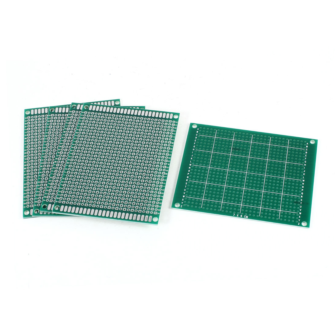 5Pcs DIY Universal Single Sided Protoboard Glass Fiber Prototyping PCB Printed Circuit Board 7cm x 9cm