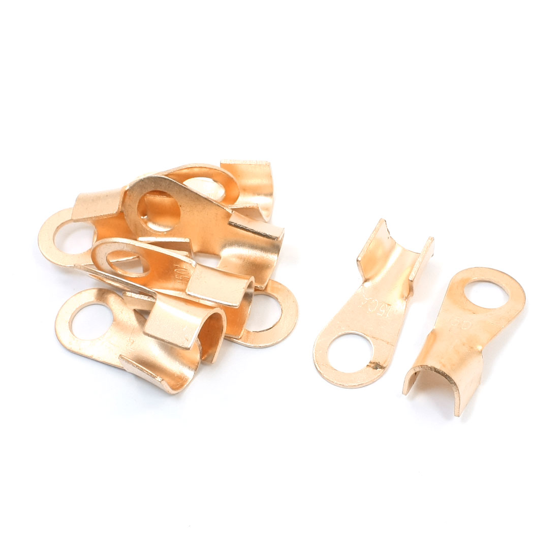 10pcs 150A Cable Tube Passing Through Crimp Copper Connector Terminal