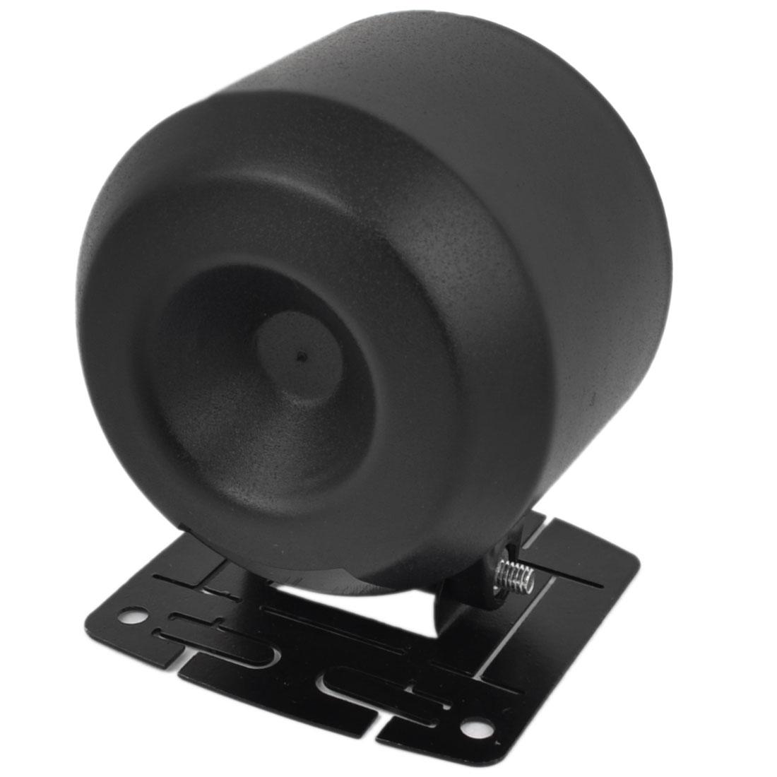 60mm Inner Diameter Single Hole Gauge Dash Pod Holder Trim Cover for Car