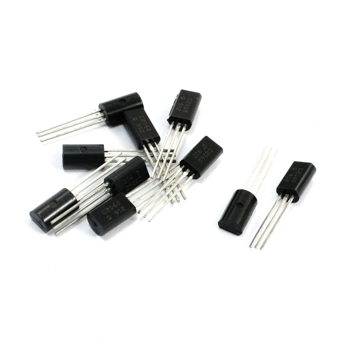10pcs General Propose C2060 32V 2A TO-92L Package NPN Transistor