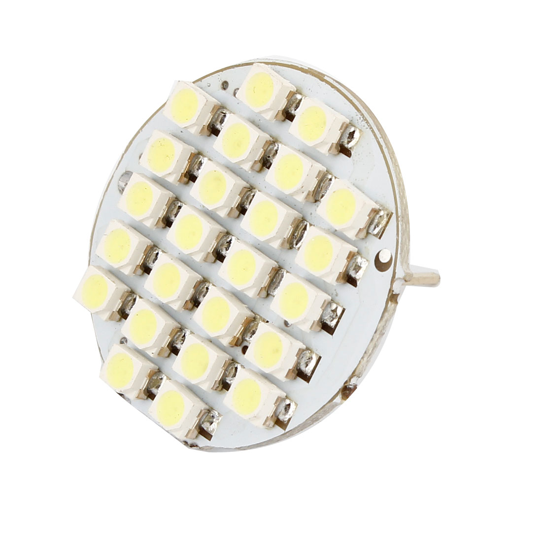 Vertical G4 Back Pin White 1210 3528 SMD 24LED Indicator Dashboard Light Bulb