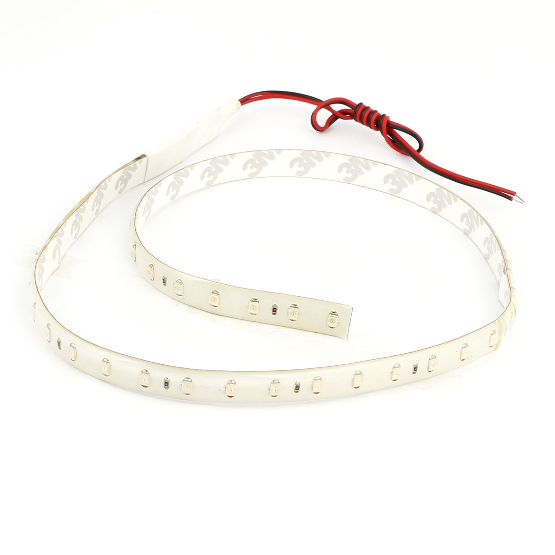 Car 48 1210 SMD Red LED Flexible Strip Bar Light Lamp Decor 60cm DC 12V Internal