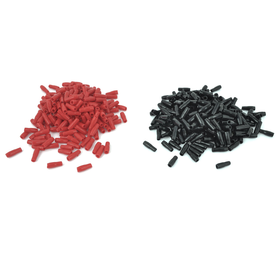 1000 Pieces 1.25-1.5mm2 Soft PVC Wire Terminal Sleeves Insulating Covers Caps