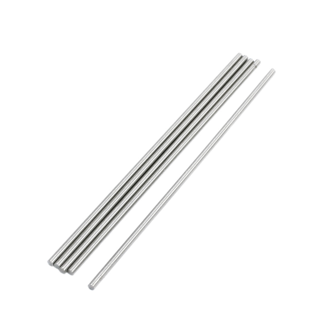 Lathe 100mm x 2mm Stainless Steel Axle Round Rod Stock Drill Bar 5Pcs