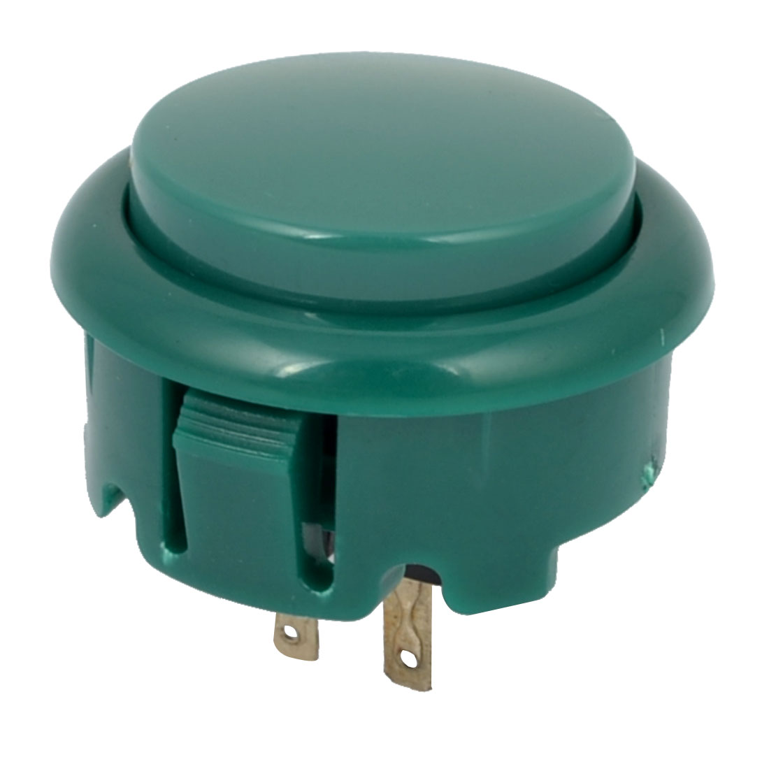 Arcade Games Momentary Push Button 20mm Dia Green AC 250V 1.5A