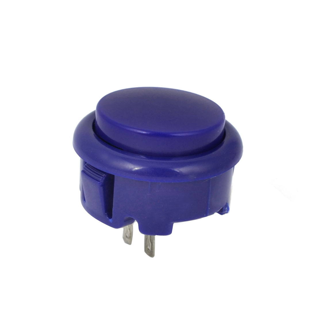 Arcade Games Momentary Push Button 20mm Dia Blue AC 250V 1.5A
