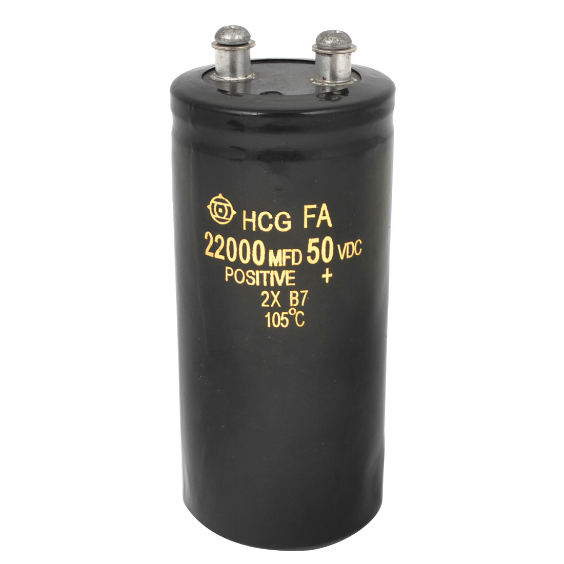 Screw Terminal Metal Can Aluminium Electrolytic Capacitor 22000uF 50V 105C Temp