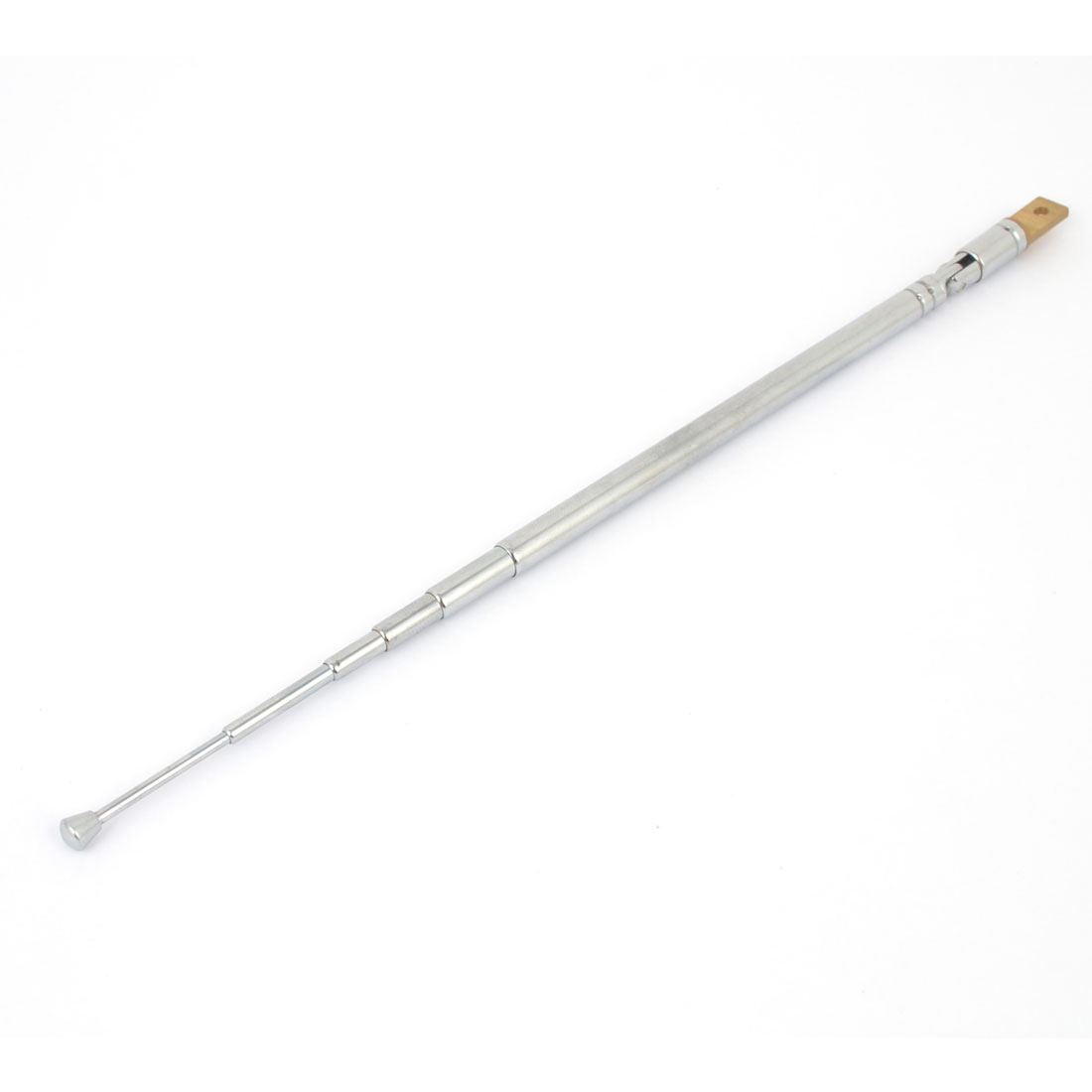 Radio Control AM FM Radio TV Stainless Steel Telescopic Antenna Remote Aerial 53cm Long 6 Sections