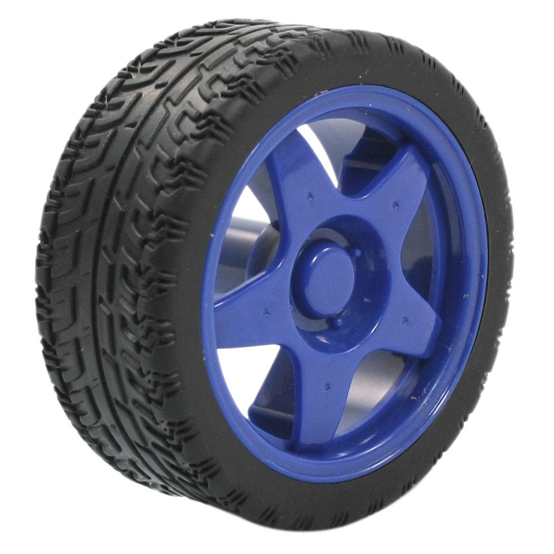 RC Smart Cars Truck DIY Spare Parts Blue Star 1:10 Drift Wheel Tire